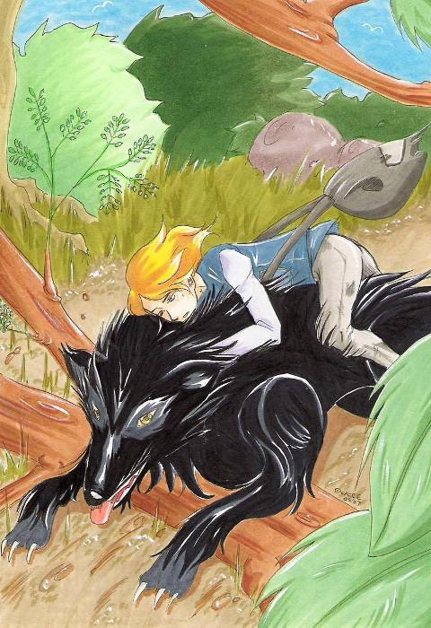 Dimitrij, Wolfsreiter